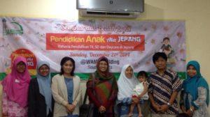 seminar dan bedah buku Pendidikan Anak Ala Jepang Bersama Mbak Juniar Putri serta kawan Kemendikbud dan JJS (Jakarta Japanese School)