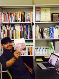 Testimoni buku MMKNS oleh pengusaha tempe di jepang
